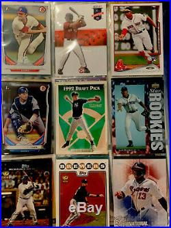 150+ Rookie Baseball Cards In Binder 1970s-2018 Stars & HOF Only See PICS HOT