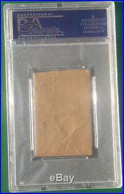 1921 Schapira Bros. Babe Ruth baseball card NO ARROWS PSA Authentic Bambino RARE