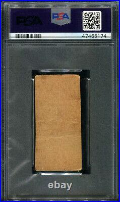 1921 W516-2-2 #10 Babe Ruth Hand Cut Strip Card Psa Authentic (5174)