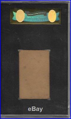 1921 W551 Babe Ruth SCG 40 Very Good Graded HOF New York Yankees vintage
