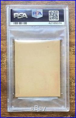 1921 W551 Baseball Strip Card Babe Ruth Ty Cobb PSA 3 VG Rare Uncut On One Card