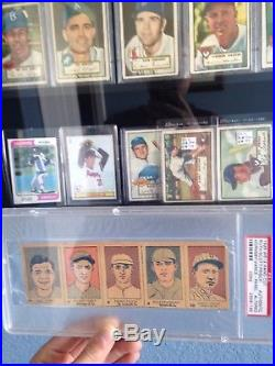 1926 W512 CUT Strip Card Panel Babe Ruth Frisch Hornsby PSA AUTHENTIC HUGE RARE