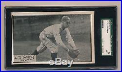 1928 R315 LOU GEHRIG HOF SGC Authenticated New York Yankees