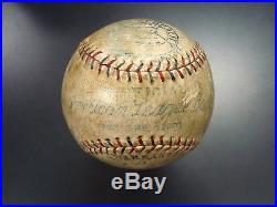 1930 Babe Ruth Signed OAL (Barnard) Baseball From 47th HOME RUN Game