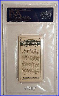 1930 British American Tobacco #25 Baseball, U. S. A, Babe Ruth (HOF) PSA 6 EX-MT