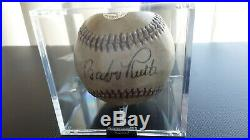 1932 Babe Ruth Single Signed Auto Baseball. Comes with Loa and ball is sealed