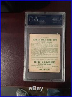 1933 Goudey Babe Ruth #53 PSA 4 Card Is Beautiful