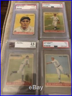 1933 Goudey Complete Set 1-240 Psa Sgc Bvg Holy Grail Babe Ruth Lou Gehrig