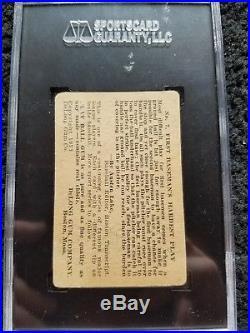 1933 Lou Gehrig DeLong Gum Co. #7 Graded SGC 30 Good