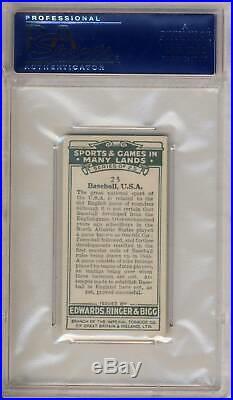 1935 Edwards Ringer Bigg Tobacco Card USA (Babe Ruth) PSA 6.5 NM