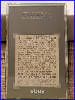 1948 Leaf BABE RUTH #3, SGC 1