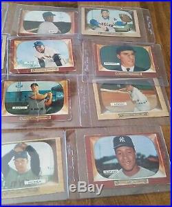 1950s baseball super lot, stars, p/sets, Mantle, Mays, Aaron, Williams, 1,200+