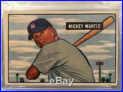 1951 Bowman Mickey Mantle #253 PSA 4 - The Real Mantle Rookie Card