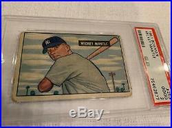 1951 Bowman Mickey Mantle PSA 2 Good True Rookie! CRISP PHOTO