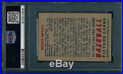 1951 Bowman Mickey Mantle RC PSA 4.5