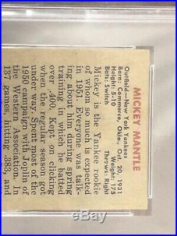 1951 Bowman Mickey Mantle RC Rookie #253 PSA 5 EX