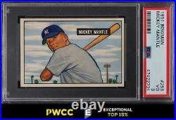 1951 Bowman Mickey Mantle ROOKIE RC #253 PSA 3 VG (PWCC-E)