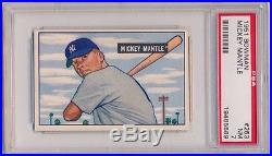 1951 Bowman Mickey Mantle Rookie Psa 7