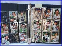 1952 Bowman Baseball Cards Complete Set Mickey Mantle Yogi Berra Willie Mays