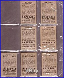 1952 Bowman Baseball Complete Set (252) VG EX Mickey Mantle Willie Mays PSA 4