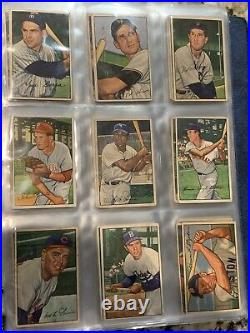 1952 Bowman Complete Set, Investment Mickey Mantle, Willie Mays, Yogi Berra