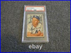 1952 Bowman Mickey Mantle #101 N. Y. Yankees Just Graded Pr Psa 1