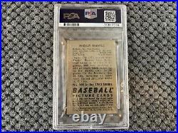 1952 Bowman Mickey Mantle #101 Psa 4.5 Vg-ex+