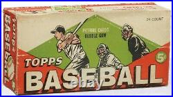1952 Sealed Mantle Card Chase Box-22+vintage Pack +graded Card +2 Cards 1950/6