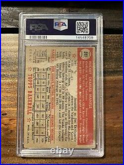 1952 TOPPS #311 MICKEY MANTLE PSA 1 New York Yankees NEW PSA LABEL