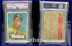 1952 TOPPS Mickey Mantle PSA 2 no reserve