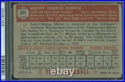 1952 Topps 311 Mickey Mantle PSA 1 (8430)