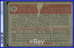 1952 Topps 311 Mickey Mantle PSA 2 (0773)