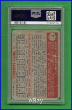 1952 Topps #311 Mickey Mantle PSA AUTH/ALT New York Yankees baseball card