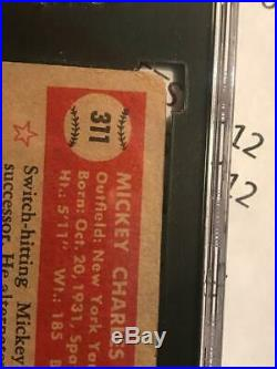 1952 Topps #311 Mickey Mantle RC SGC 2 HIGH SERIES