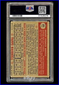 1952 Topps #311 Mickey Mantle Rc Rookie PSA 1.5