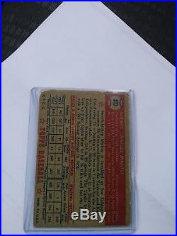 1952 Topps #311 Mickey Mantle Rookie Baseball Card
