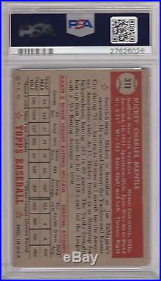 1952 Topps #311 Mickey Mantle Rookie Card Rc, New York Yankees Psa 3.5 (26026)
