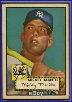 1952 Topps #311 Mickey Mantle Yankees RC HOF HIGH# PSA 5 FANTASTIC CENTERING