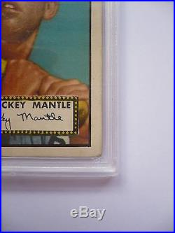 1952 Topps Mickey Mantle #311 PSA 1 Yankees Strong 1. PSA 1.5