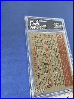 1952 Topps Mickey Mantle # 311 PSA 3 HIGH NUMBER YANKEES