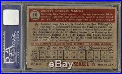 1952 Topps Mickey Mantle #311 PSA 7 NM
