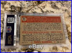 1952 Topps Mickey Mantle Rookie #311 Psa 2 New Label Gorgeously Centered Icon Rc