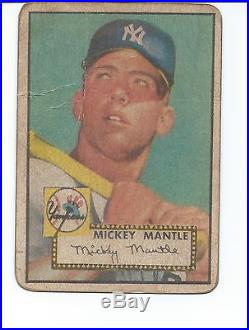 1952 Unopen Mantle Card Chase Box(22)+vintag Pack+graded Card+2 Card 1950/60's