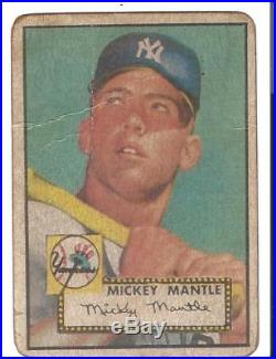 1952 Unopened Mantle Card Chase Box(21)+vintage Pack+2 Card 1950/60'+auto Card