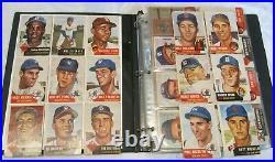 1953 Topps Baseball Complete Set J. Robinson Mantle Mays Tons Of Stars Vg/vg+