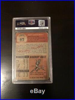 1953 Topps Mickey Mantle #82 Baseball Card PSA 1.5