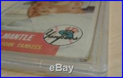 1953 Topps Set Break # 82 Mickey Mantle PSA 1 PR 19476827 3rd year card