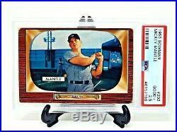 1955 Bowman #202 HOF Yankees MICKEY MANTLE Vintage Baseball Card PSA 2.5 Good+