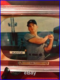 1955 Bowman MICKEY MANTLE New York Yankees #202 Baseball Card / PSA-1