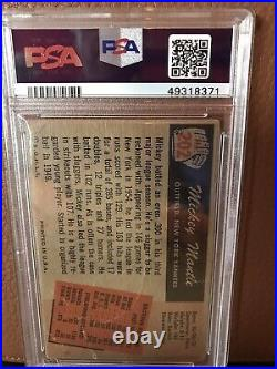 1955 Bowman Mickey Mantle #202 PSA 1 NY Yankees HOF. Just Returned From PSA